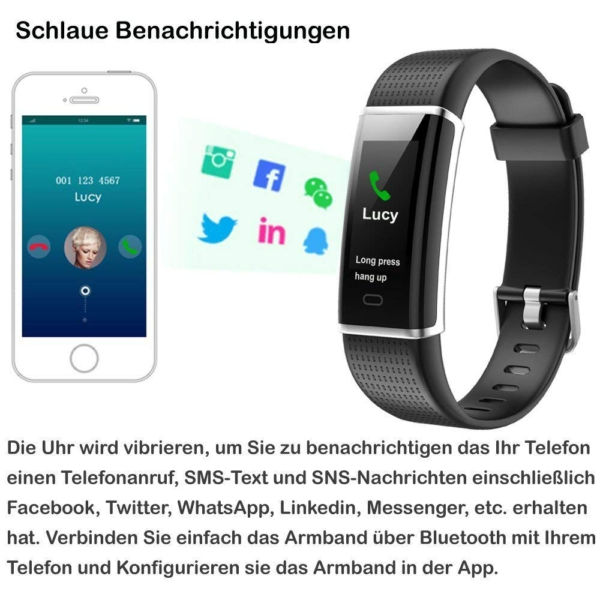 Willful Fitness Armband beanchrichtigung