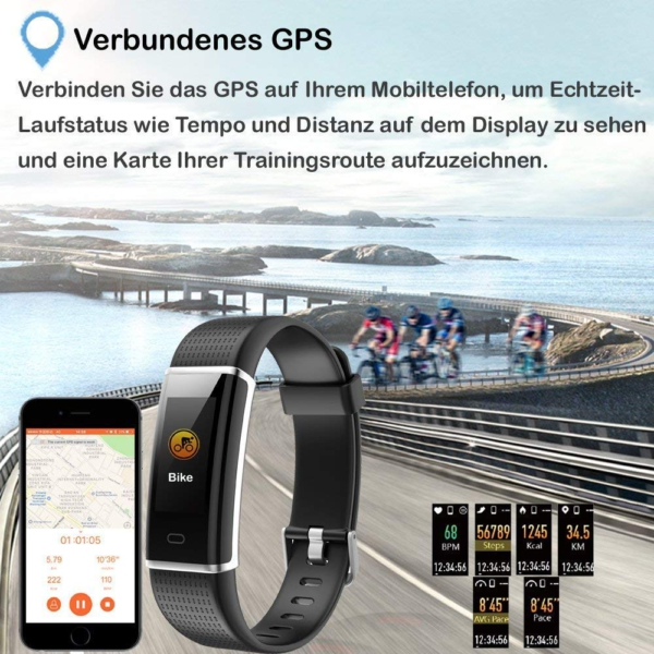 Willful Fitness Armband gps
