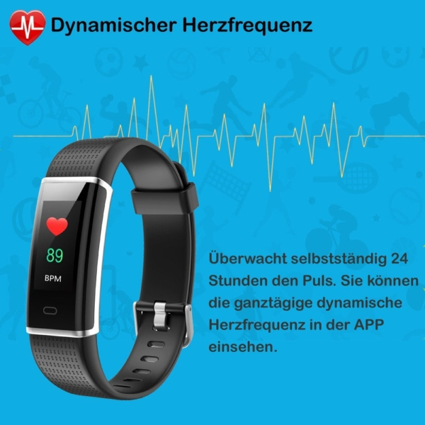 Willful Fitness Armband herzfrequenz