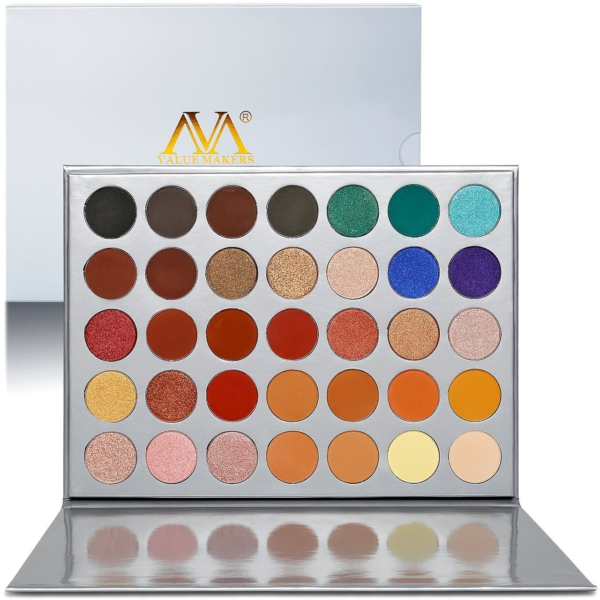Value Makers Lidschattenpalette mit 35 Lidschatten